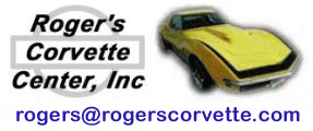 Roger's Corvette Center, sales@rogerscorvette.com