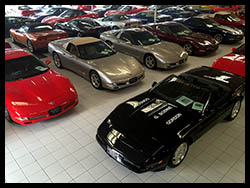 Click for a larger photo of Roger's indoor showroom