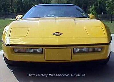 1990 Corvette Specifications
