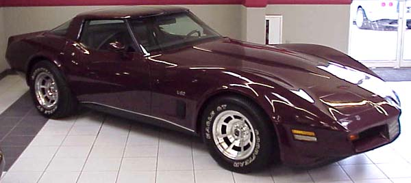Corvette Spotlight Of The Month 1980 L82 Corvette Coupe