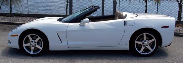 2005 White Corvette >> Corvette Spotlight of the Month -- Roger's Corvette Center