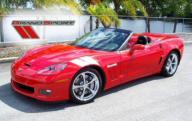 2011 Inferno Orange Grand Sport Convertible with only 4,000 Miles!
