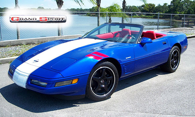 1996 Grand Sport Convertible with just under 2000 miles!