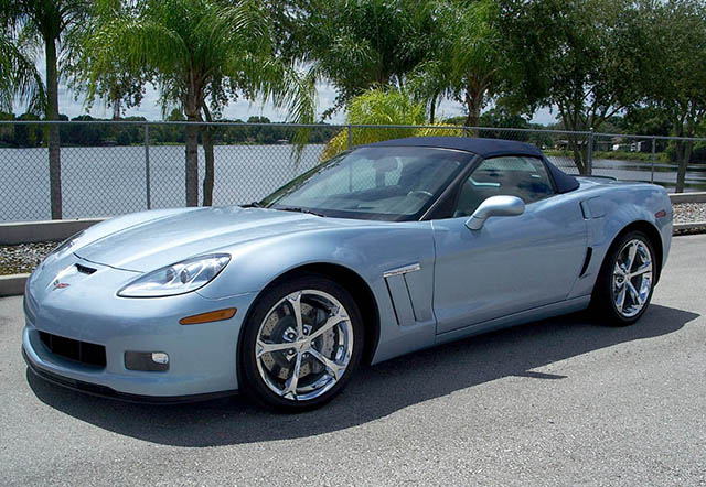 2012 Carlisle Blue Grand Sport Convertible with just under 6,000 Miles!