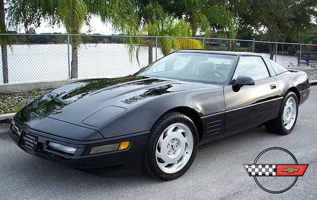 1992 Black Corvette Coupe with just under 18,000 Miles!