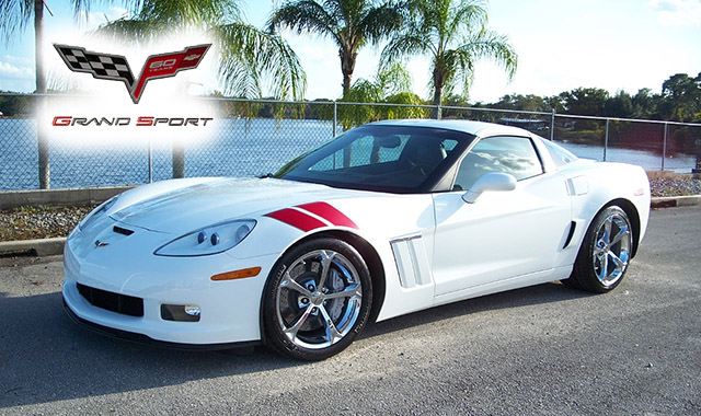 2011 Arctic White Grand Sport Coupe with just over 8,000 miles
