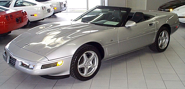 roger 39 s corvette center 1996 corvette collector. Black Bedroom Furniture Sets. Home Design Ideas