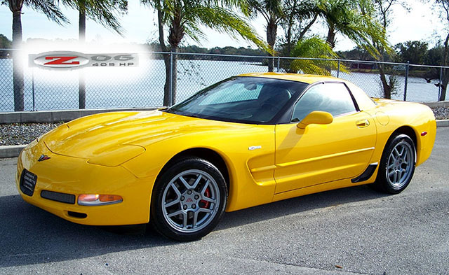 2002 Millenium Yellow Z06 with just under 1600 Miles!