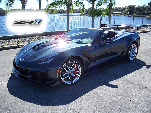 2019 Shadow Gray ZR1 Convertible with just under 280 miles!
