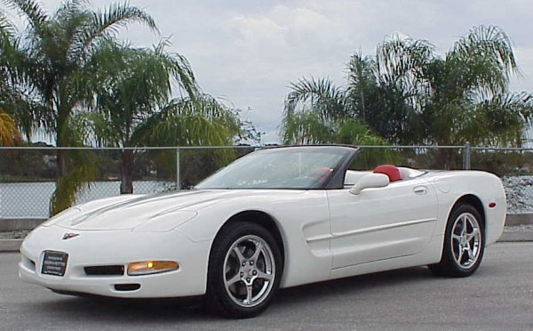 With Less Than 3000 Miles This 2002 Corvette Convertible Is Just About As New They Come The Color Combination On Beautiful Car Particularly