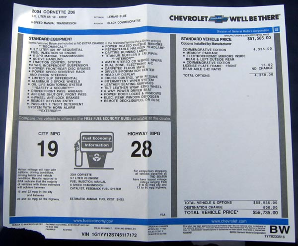 C5 Z06 Floor Mats Corvette Floor Mats Diamond Plate 2pc