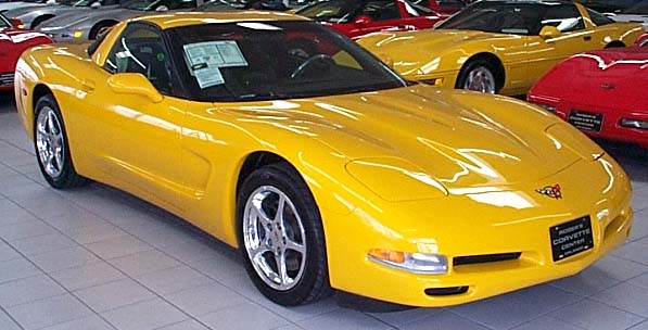 Corvette Spotlight Of The Month 2000 Millenium Yellow Coupe