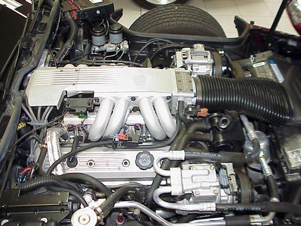 C4 Corvette Engine