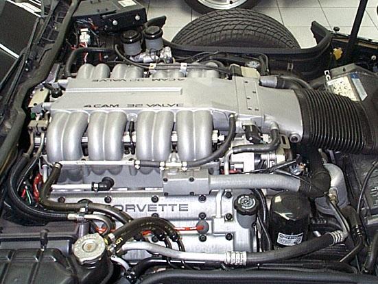 91 Corvette ZR1 Engine